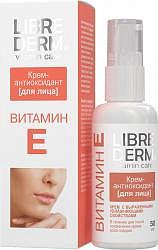 Либридерм витамин е крем для лица антиоксидант 50мл
