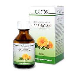 Олеос масло косметическое календулы с витаминно-антиоксидантным комплексом 30мл