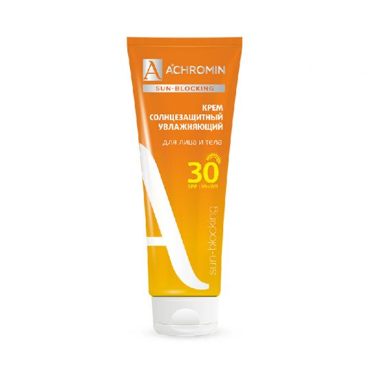 Ахромин сан-блокинг крем для лица/тела солнцезащитный spf30 250мл медикомед нпф,ооо, фото №1