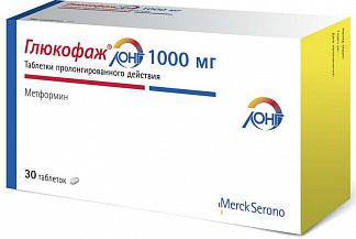 Глюкофаж лонг 1000мг 30 шт. таблетки пролонгированного действия merck sante/нанолек ооо