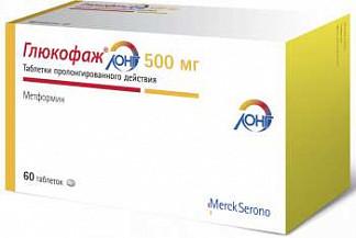 Глюкофаж лонг 500мг 60 шт. таблетки с пролонгированным высвобождением merck sante