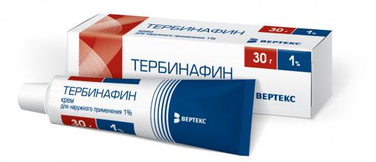 Тербинафин 1% 30г крем, фото №1
