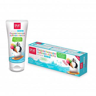 Сплат кидс зубная паста 2-6 лет фруктовое мороженое 50мл