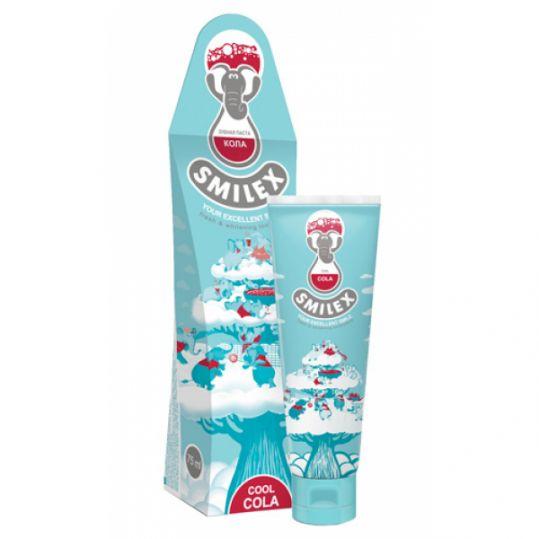Сплат смайлекс зубная паста освежающая кола 75мл, фото №1