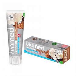 Сплат биомед зубная паста супервайт 100мл