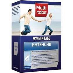 Мульти-табс интенсив таблетки 30 шт.