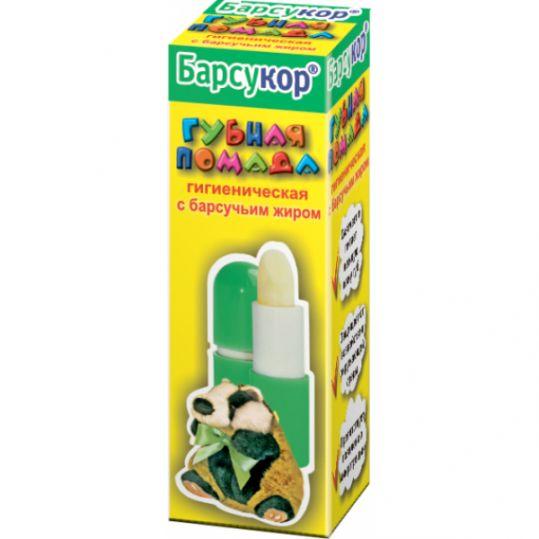 Барсукор помада гигиеническая 3,5г, фото №1