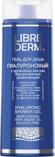 Либридерм гиалурон гель д/душа аргановое масло бессульфатный 300мл