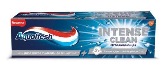 Аквафреш зубная паста отбеливающая 100мл, фото №1