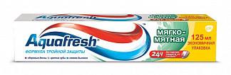Аквафреш 3+ зубная паста мягко-мятная 125мл