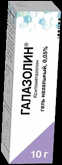 ГАЛАЗОЛИН 0,05% 10г гель назальный