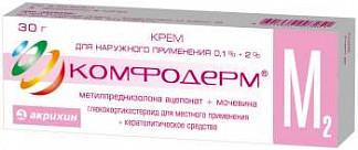 Комфодерм м2 30г крем