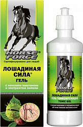 Лошадиная сила гель тонизирующий для вен с конским каштаном и экстрактом пиявки 500мл