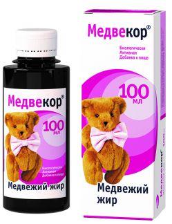 Медвекор медвежий жир 100мл