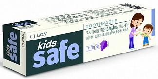 Лион кидс сейф зубная паста для детей виноград 3-12лет 90г