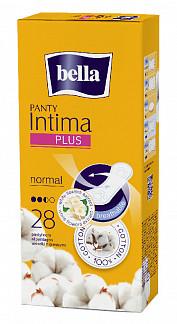 Белла панти интима плюс прокладки ежедневные нормал 28 шт.