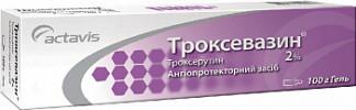 Троксевазин 2% 100г гель для наружного применения