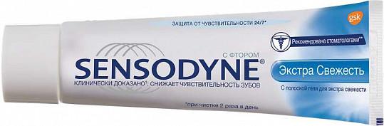 Сенсодин зубная паста экстра свежесть 50мл, фото №2