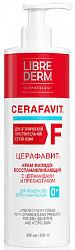 Либридерм церафавит крем для лица/тела липидовосстанавливающий с церамидами и пребиотиком 0+ 400мл