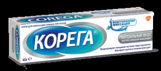 Корега крем д/протезов нейтральный вкус 40мл