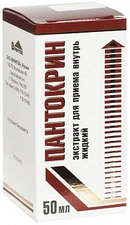 Пантокрин 50мл экстракт для приема внутрь жидкий