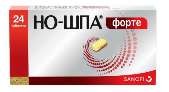Но-шпа форте 80мг 24 шт. таблетки, фото №1