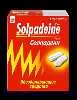 Солпадеин фаст n12 таб. покрытые пленочной оболочкой