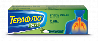 ТЕРАФЛЮ БРО 40г мазь
