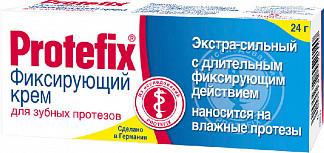 Протефикс крем фиксирующий для зубных протезов экстра сильный 20мл/24г