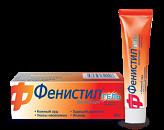 Фенистил 0,1% 30г гель д/наружного применения