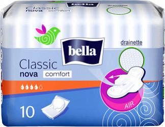 Белла нова классик комфорт прокладки гигиенические 10 шт.