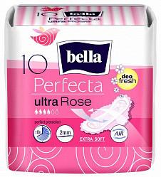 Белла перфекта ультра прокладки гигиенические супертонкие розе део фреш 10 шт.