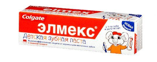 Элмекс зубная паста детская до 6 лет 50мл, фото №1