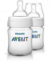 Авент классик бутылочка для кормления с соской для новорожденных 80022 (scf560/27) 125мл 2 шт.