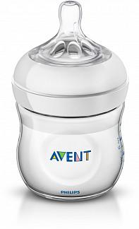 Авент натурель бутылочка для кормления с соской для новорожденных 86025 (scf690/17) / (scf030/17) 125мл