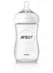 Авент натурель бутылочка для кормления с соской медленный поток 86015 (scf693/17) 260мл