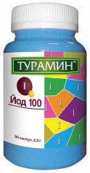 Турамин йод 100 капсулы 90 шт.