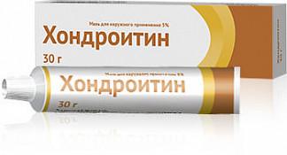 Хондроитин 5% 30г мазь