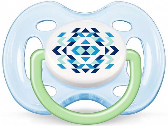 Авент пустышка силиконовая для мальчиков фри флоу 0-6 месяцев (scf180/25) 2 шт., фото №3