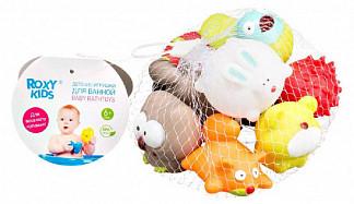 Рокси кидс набор игрушек для ванной лесные жители 6+