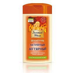 Золотой шелк шампунь для волос дегтярный активный для проблемной кожи на березовом дегте арт.0228 250мл