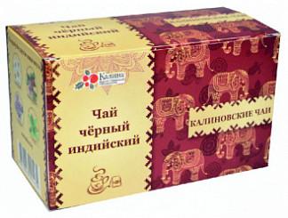 Калиновские чаи чай черный индийский 20 шт. фильтр-пакет