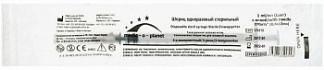 Медик-о-планет шприц инсулиновый трехкомпонентный u100 1мл 27gх1/2 (0,4х13мм) 1 шт.