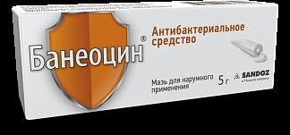 Банеоцин 5г мазь д/наружного применения