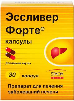 Эссливер форте n30 капс. nabros pharma