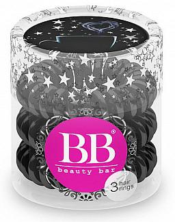 Бьюти бар резинка для волос черный цвет 3 шт.