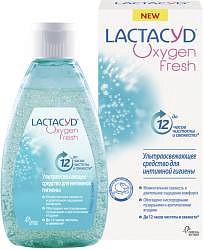 Лактацид оксиджен средство для интимной гигиены с кислородом 200мл