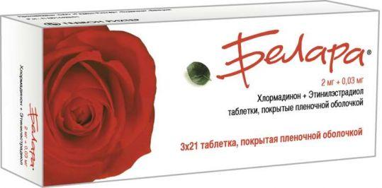 Белара n21х3 таблетки, фото №1