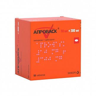 Апроваск 10мг+300мг 56 шт. таблетки покрытые пленочной оболочкой