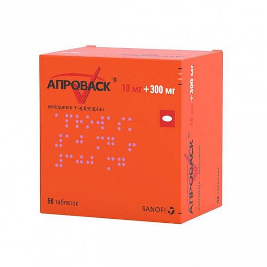 Апроваск 10мг+300мг 56 шт. таблетки покрытые пленочной оболочкой, фото №2
